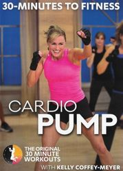 30 Minutes To Fitness Cardio Pump Kelly Coffey-Meyer DVD