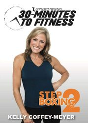 30 Minutes To Fitness Step  Boxing Kelly Coffey-Meyer DVD