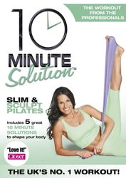 10 Minute Solution Slim & Sculpt Pilates Suzanne Bowen DVD