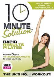 10 Minute Solution Rapid Results Pilates Lara Hudson DVD