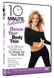 10 Minute Solution Dance Your Body Thin Andrea Leigh DVD