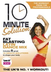 10 Minute Solution Fat Blasting Latin Dance Mix Stella Sandoval DVD