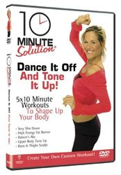 10 Minute Solution Dance It Off Jennifer Galardi DVD + Toning Band