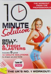 10 Minute Solution Belly Butt & Tigh Blasters Jessica Smith DVD