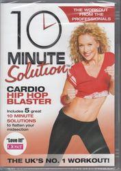 10 Minute Solution Cardio Hip Hop Blasters Heather Graham DVD