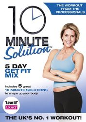 10 Minute Solution 5 Day Get Fit Mix Amy Bento DVD