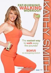 Kathy Smith Fatburning Walking Workout DVD