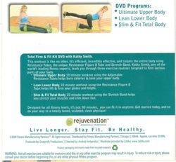 rejuvenation with Kathy SmithTotal Firm & Fit Kit DVD