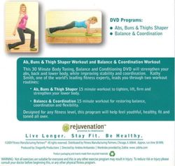 rejuvenation with Kathy Smith Body Balance Kit DVD