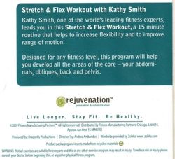 rejuvenation with Kathy Smith Stretch & Flex Kit DVD
