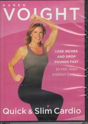 Karen Voight Quick & Slim Cardio DVD
