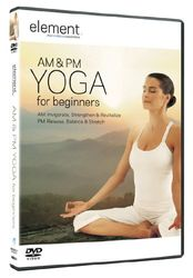element AM & PM YOGA for beginners Elena Brower DVD