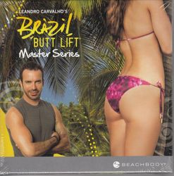 Leandro Carvalho: Brazil Butt Lift - Master Series (4-DVD-Set)