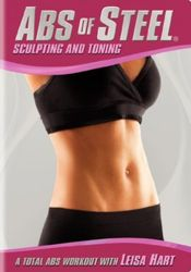 Leisa Hart - Abs of Steel: Sculpting and Toning (DVD)