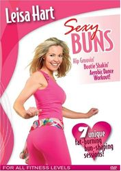Leisa Hart: Sexy Buns - Aerobic Dance Workout - DVD