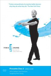 Finis Jhung Ballet Pirouette Class 3 Levels 2 & Up Ballett DVD