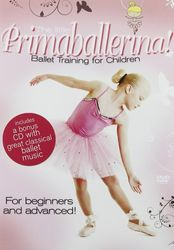 Ballettuntericht für Kinder - The Little Primaballerina (DVD+CD)