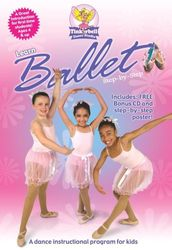 Learn Ballet Step-by-Step - ab 4 Jahre (DVD + CD)