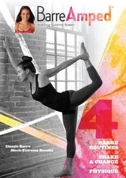 Suzanne Bowen Barre Amped Ballett Workout DVD