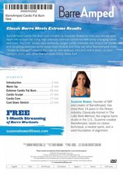 Suzanne Bowen. Barre Amped - Cardio Fat Burn (DVD)