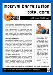barlates interval barre fusion total core Ballett workout DVD