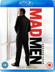 MAD MEN: Complete Season 4 (3 Blu-ray Discs)