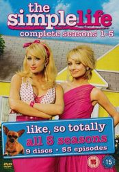 The Simple Life: Season 1,2,3,4 & 5 (5-DVD-Set)