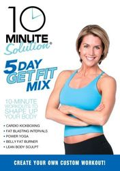 10 Minute Solution: 5 Day Get Fit Mix - Amy Bento - DVD