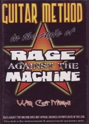 Guitar Method in the style of Rage Against The Machine (DVD)
