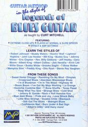 Guitar Method in the style of Legends of Blues Guitar (DVD)