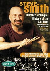 Steve Smith: Drumset Technique & History of U.S. Beat (2-DVD-Set)