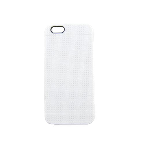 TPU-Case Handy-Hülle zu Apple iPhone 6 / 6s - GRID Weiß