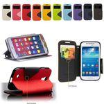Flip Case Handy-Hülle zu Samsung Galaxy S8 Plus / SM-G955 - FANCY DIARY BOOK ZWEIFARBIG