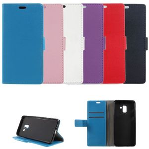 Flip Case Handy-Hülle BOOK #M46 zu Samsung Galaxy A8 Plus 2018