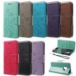 Flip Case Handy-Hülle Book #S19 Schmetterlinge zu Samsung Galaxy S-Serie