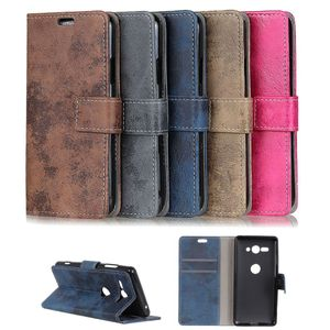 Flip Case Handy-Hülle Book #M36 Vintage Style zu Sony Xperia X-Serie