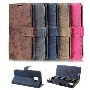 Flip Case Handy-Hülle Book #M36 Vintage Style zu Samsung Galaxy A-Serie
