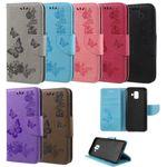 Flip Case Handy-Hülle #S28 Schmetterlinge zu Samsung A-Serie
