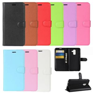 Flip Case Handy-Hülle BOOK #M30 zu Samsung Galaxy A6 Plus 2018