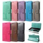 Flip Case Handy-Hülle #M58 Baum zu Samsung J-Serie