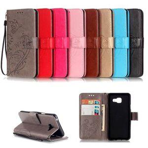 Flip Case Handy-Hülle #S18 Schmetterlinge zu Samsung A-Serie