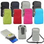 Gürtel-Tasche Handy-Tasche 180x110x35mm Nylon Umhängetasche Umhängen klein