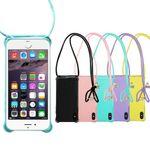 Handy Hülle mit Band zum Umhängen zu Apple iPhone 6 / 6s