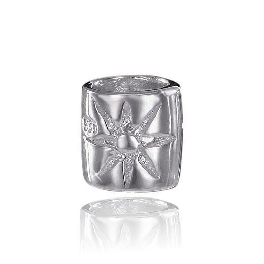 MATERIA 925 Sterling Silber Beads Sonne - Silber Anhänger für European Beads Armband / Kette #867