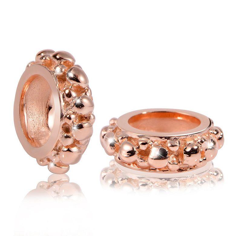MATERIA PREMIUM Beads Anhänger Silber 925 Rosegold Gold Zwischenelement für Bead Armband mit Box #1669