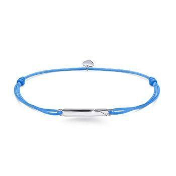 MATERIA Textil Gravur Armband mit Herz Anhänger 925 Silber rhodiniert 13-24cm inkl Schmuckbox #SA-45