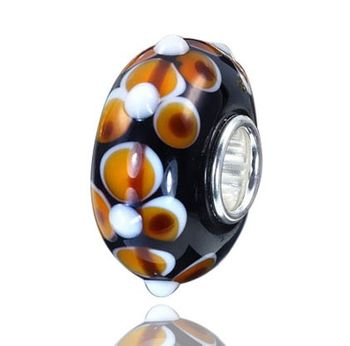 925 Sterling Silber Murano Glas Bead Element - Beads Modell: #254