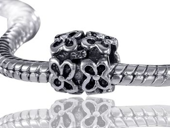 925 Sterling Silber Bead Element Blüten - Beads Modell: #567