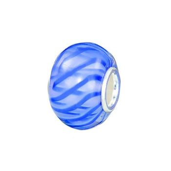 925 Sterling Silber Murano 3D Glas Bead Element - Beads Modell: #399