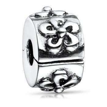MATERIA Clip Charms Anhänger Silber 925 - antik Beads Perle für European Armband Kette #721